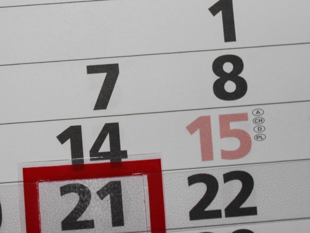 Calendario agenda
