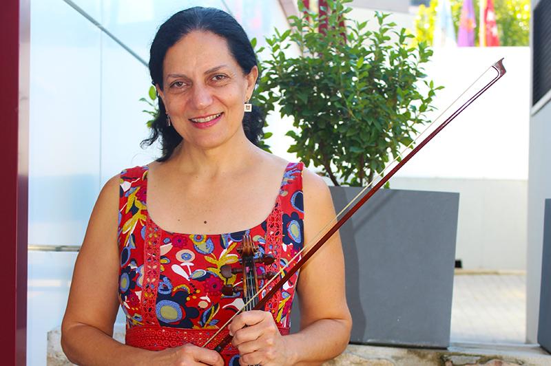Carmen Vega - Profesora de violín Escuela de Música Alarcón