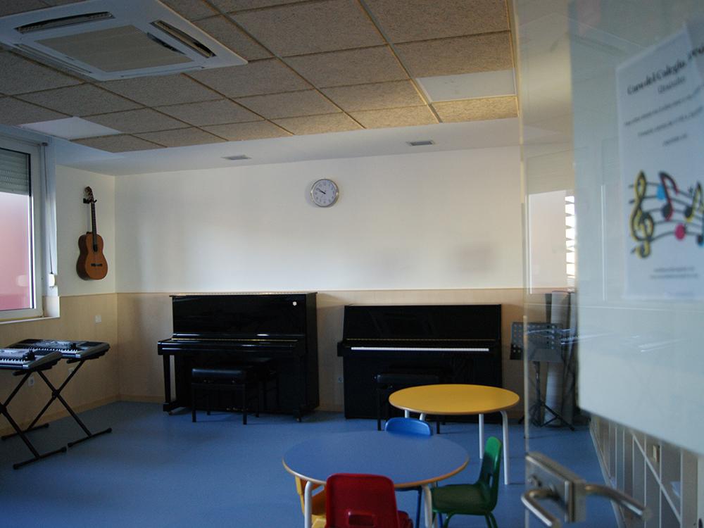 Instalaciones - Escuela de Música Alarcón