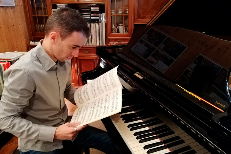 Manuel García - Profesor de piano Escuela de Música Alarcón