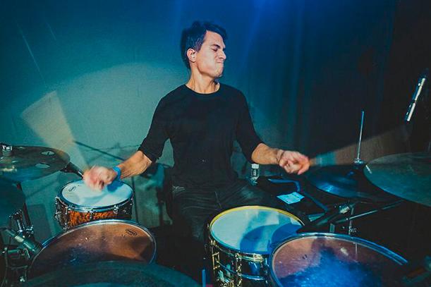 Simón Cordero - Profesor de batería Escuela de Música Alarcón