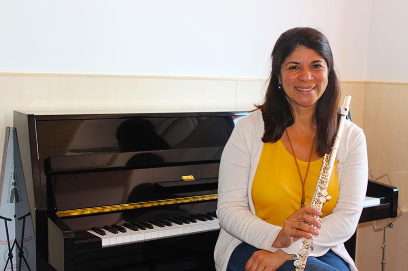 Urania Pereira - Profesora de flauta Escuela de Música Alarcón